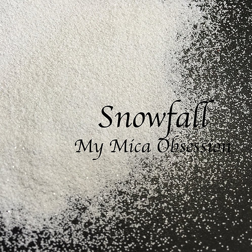 Snowfall - Metallic Glitter