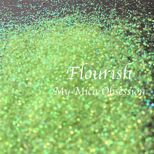 Flourish - Iridescent Glitter