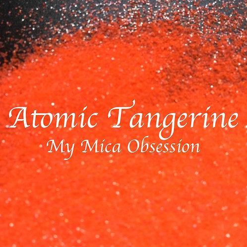 Atomic Tangerine Neon Glitter
