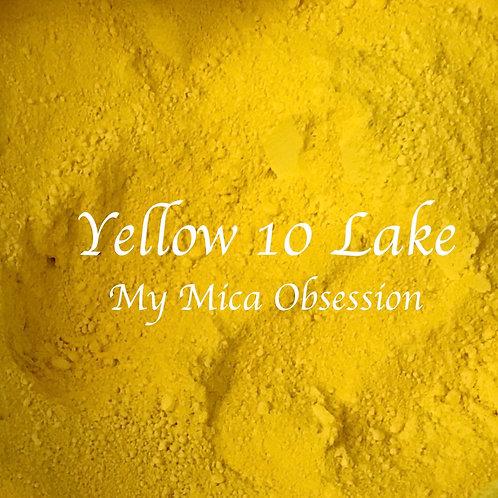 Yellow 10 Lake