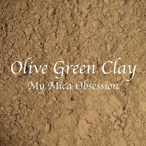 Australian Olive Green Clay