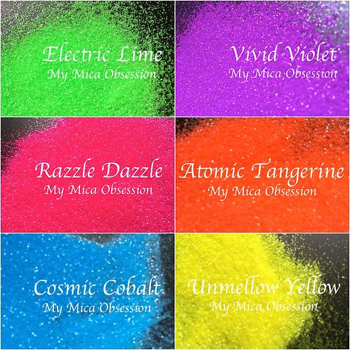 Neon Glitter Six Pack