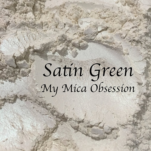 Satin Green - Interference Mica
