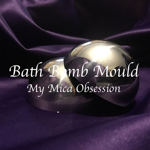 SS Bath Bomb Mould Six Pack