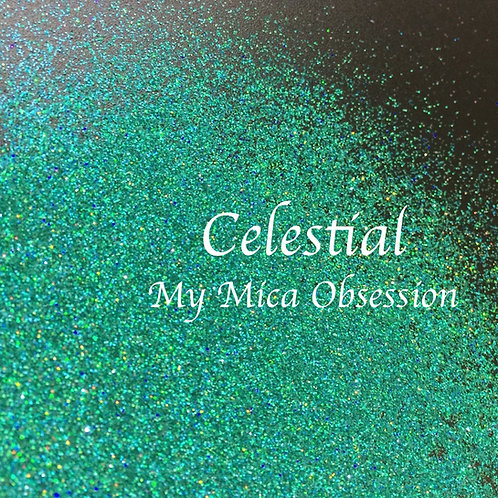 Celestial - holographic glitter