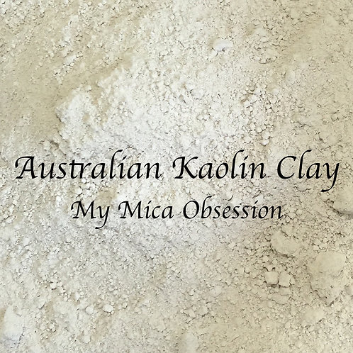 Australian White Kaolin Clay