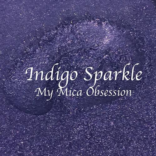 Indigo Sparkle Synthetic Mica