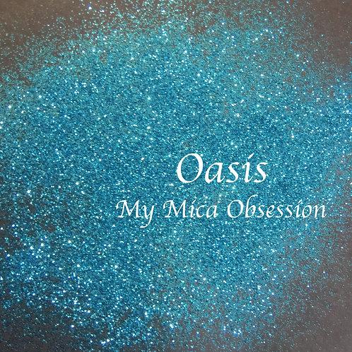 Oasis - metallic glitter