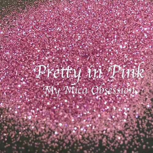 Pretty in Pink - Metallic Glitter