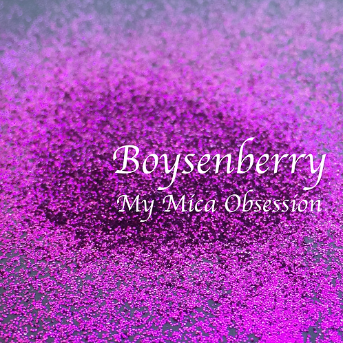 Boysenberry - Metallic Glitter