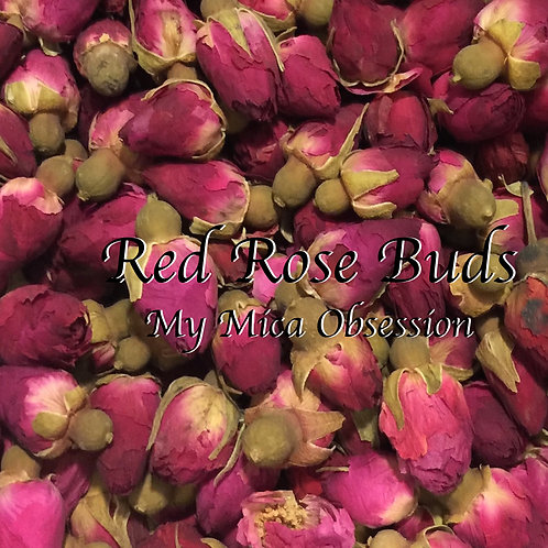 Rose Buds - Red