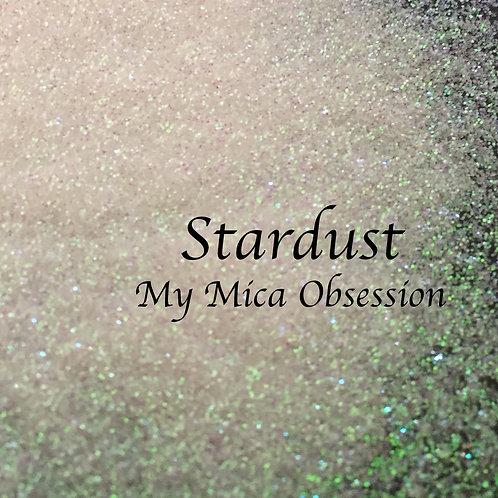 Stardust - White Iridescent Glittet