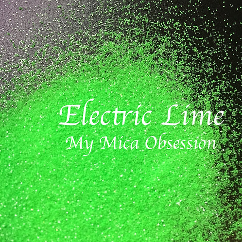 Electric Lime Neon Glitter