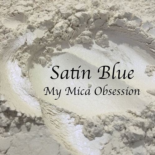 Satin Blue - Interference mica