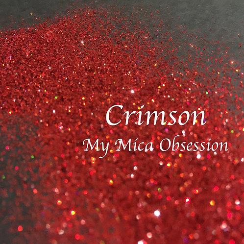 Crimson Glitter - Holographic Glitter