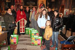 Ajutor umanitar 45 familii, 18.12.2017