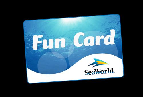 2018 Fun Card SeaWorld