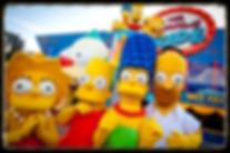 Simpsons at Universal Studios