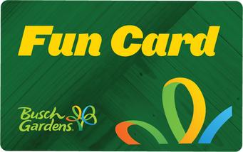 Busch Gardens Fun Card