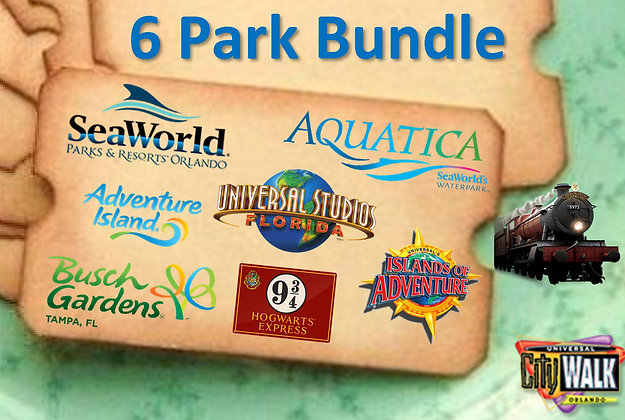 SeaWorld and Universal Orlando
