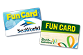 SeaWorld and Busch Gardens Fun Card