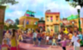 Sesame Street at SeaWorld Orlando Render