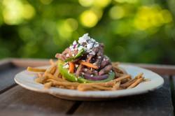 Teriyaki Beef and Avocado Salad