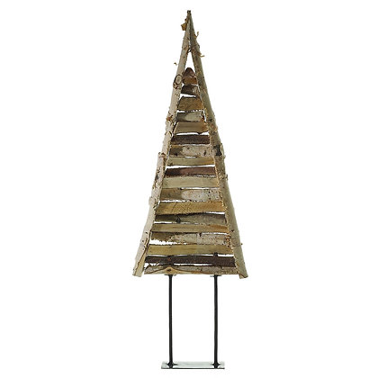 Wooden Decorative Tree with Dried Flower Garlands (Large)