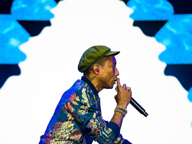 Pharrell Williams  - Pinkpop 2015