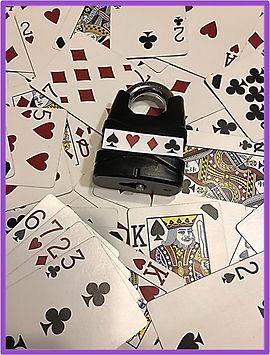 diy escape room puzzle with deck of cards
