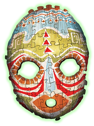 escape from jigsaw island mask