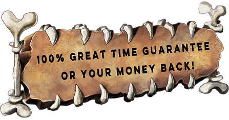bone sign holds 100% great time guarantee or your money back