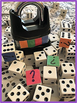 easy escape room puzzle with dice