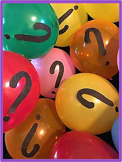 diy escape room puzzle using balloons with question marks