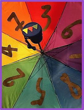 escape room puzzle idea using umbrella