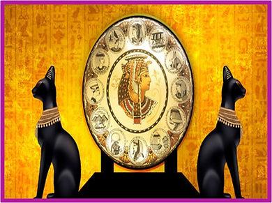 mysterious egyptian escape room theme