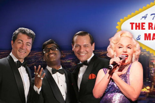 THE RAT PACK WITH MARILYN MONROE