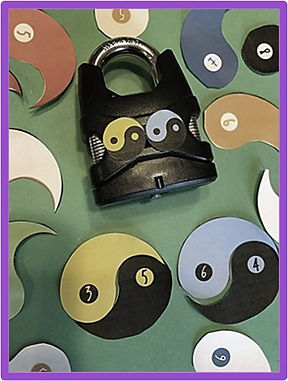 unique escape room idea using yin yangs