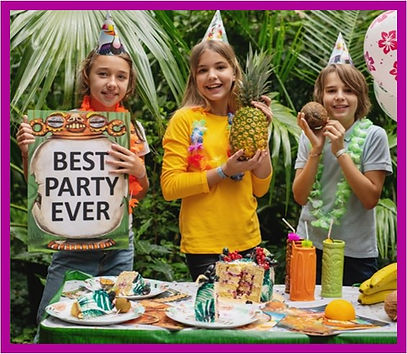 awesome kids party idea