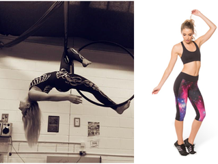 What to wear to your Aerial Hoop/Lyra Class?