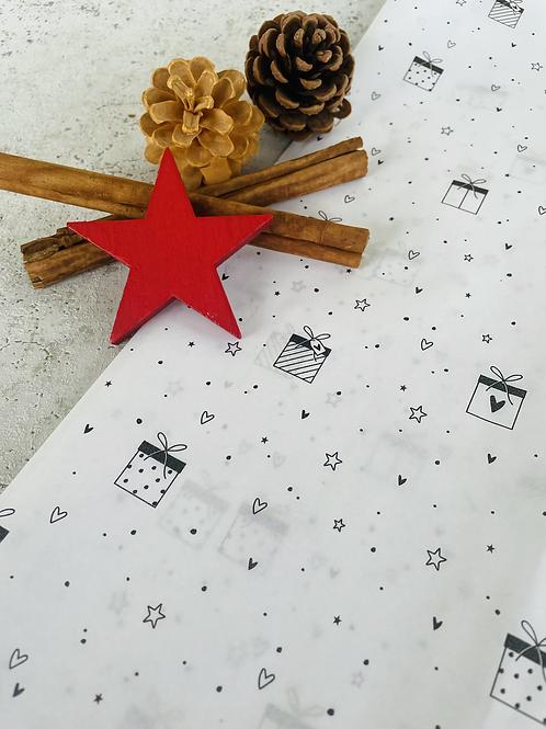 Seidenpapier •Geschenk •