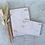 Thumbnail: Kleines Business SET Rechnungsblock und Quittungsblock im Golddesign