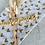 Thumbnail: Seidenpapier Goldene Herzen 50x70cm
