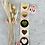 Thumbnail: Sticker Gold Herzen 10 Stk.