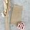 Thumbnail: Papier Taschen Kraftpapier geschnörkelt natur