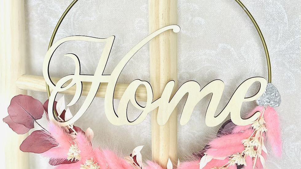 Blumenkranz Flower Hoop welcome/home