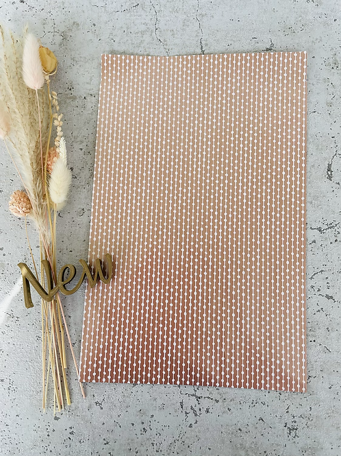 Papier Taschen •Rose strips• 10 Stk