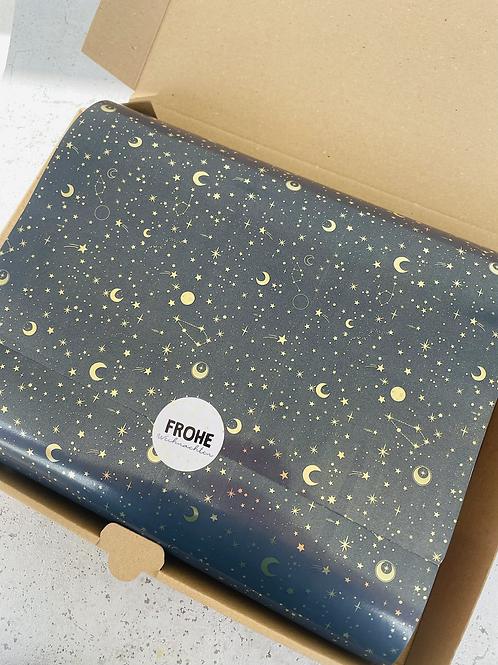Geschenkpapier 30 cm  x 3 m •Stars•