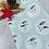 Thumbnail: Geschenkpapier 50cm x 3 m •winterwonderland mint•