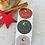 Thumbnail: Sticker •Frohe Weihnachten Mond gold• 10 Stk.